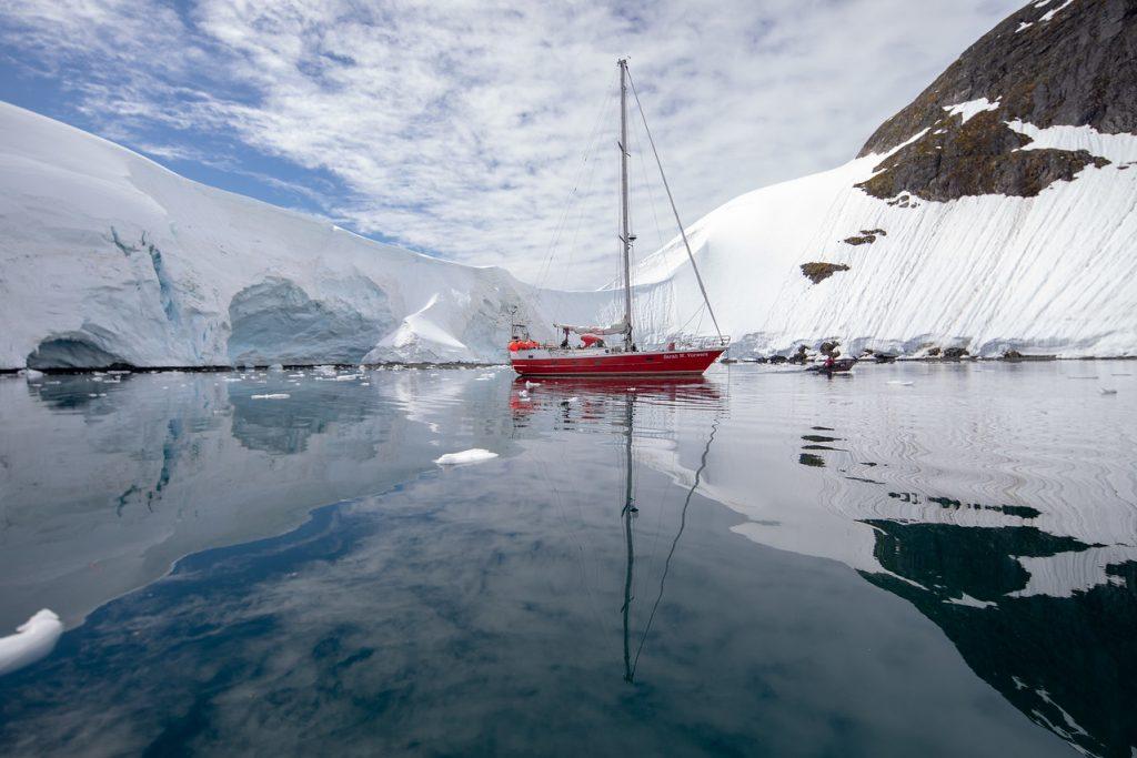 Sailing yacht antarctica