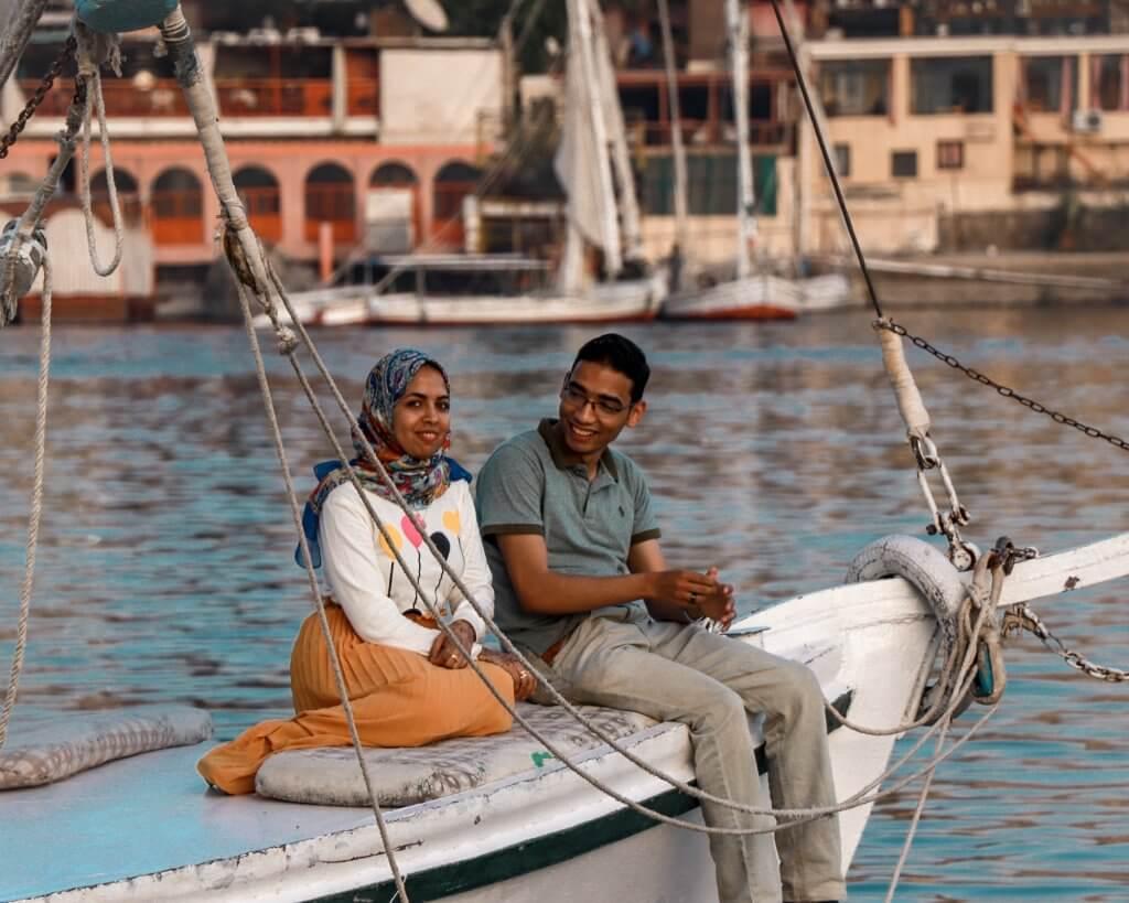 nile aswan felucca