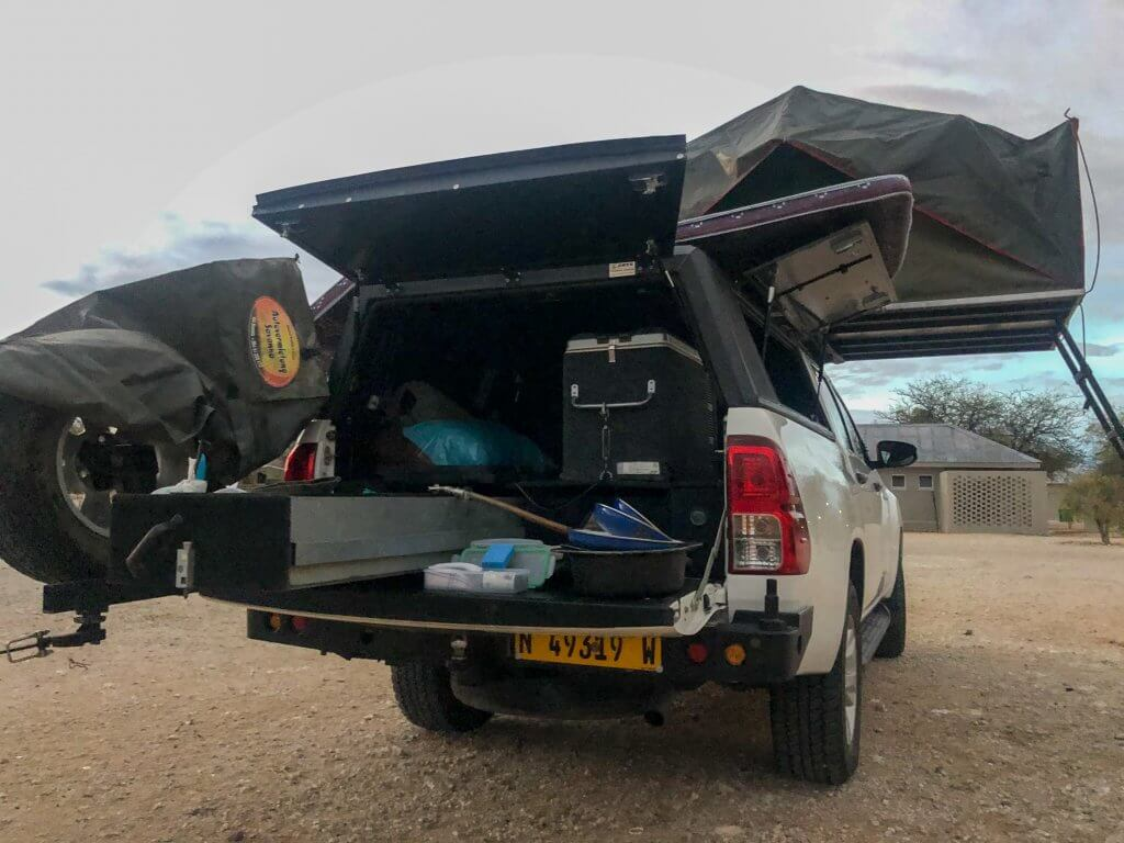 4x4 in Namibia