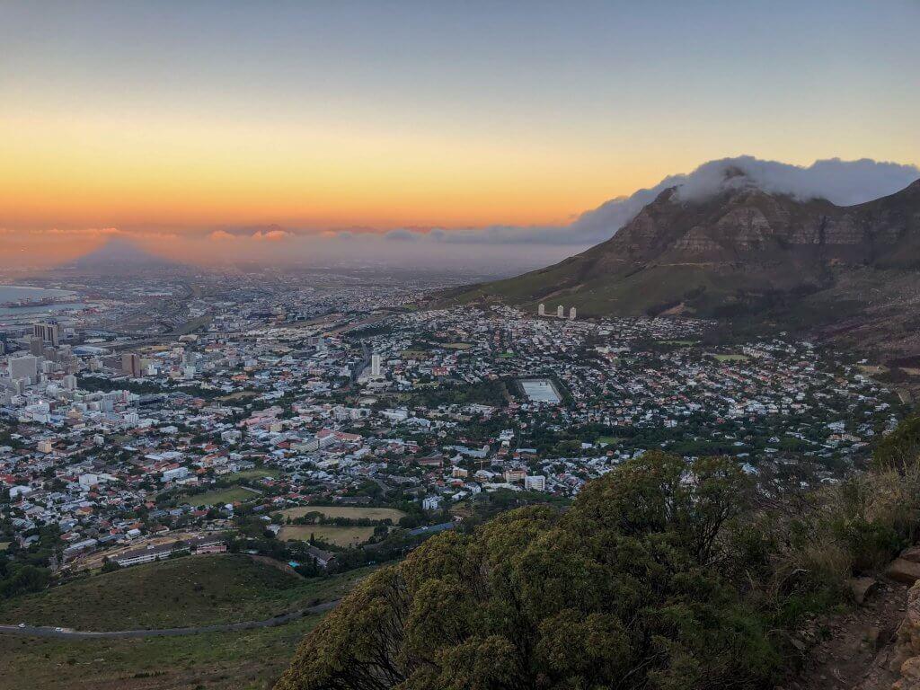Sunset Lions Head Cape Town